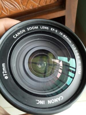 canon lens15-85 mm cakep
