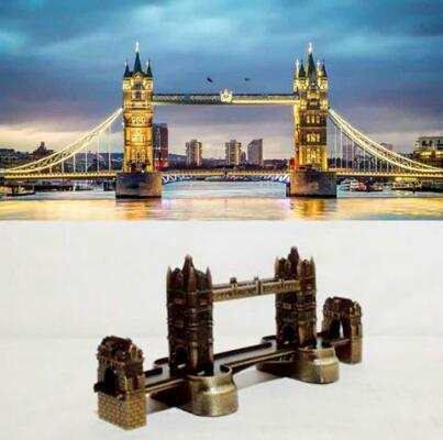 Miniatur London Tower Bridge/Jembatan London