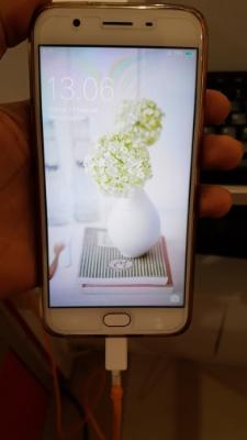 Oppo F1S Rose Gold Muluss Abiss 99%
