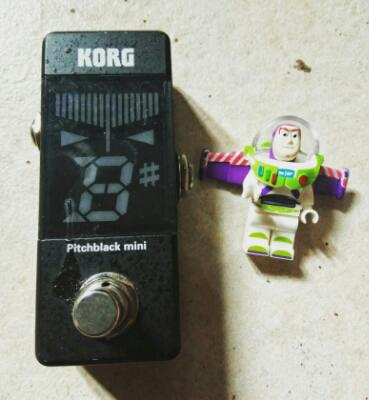 korg mini Pitchblack Tuner guitar (effect/fx/efek)