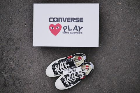 grossiste 18302 fcb0e Converse x CDG Play Comme Des Garcons not supreme bape palace stussy adidas  nike