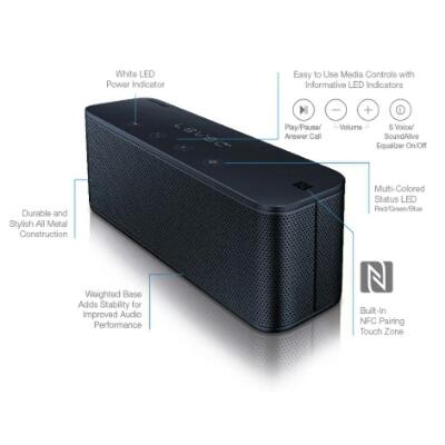 SPEAKER SAMSUNG LEVEL BOX MINI WIRELESS BLUETOOTH NFC ORIGINAL ASLI