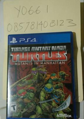 Teenage mutant ninja turtles ps4