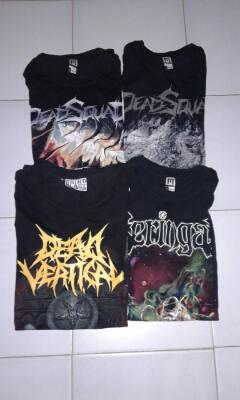Tshirt local metalband (not metallica, megadeth, slayer, anthrax, macbeth, converse)