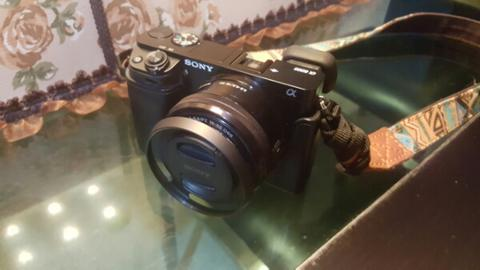 Sony A6000 Lens Kit 16-55mm + Canon 55mm F/1.2 Manual