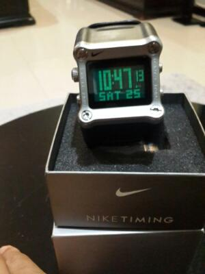 jam tangan Nike Digital Le Bron James Original komplit Box Paper