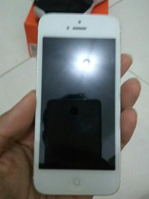 iPhone 5 64GB FU White Ori Fullset + Bonus