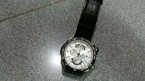 casio edifice ori bm 2nd like new efr 520L white