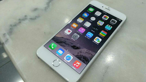 iphone 6 plus 16gb silver 8.2 jt