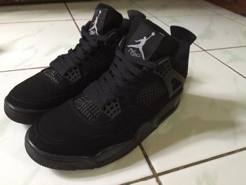 nike air jordan 4 triple black