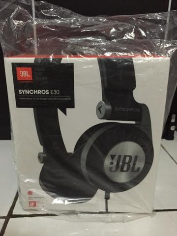 Headphone JBL synchros E30 black