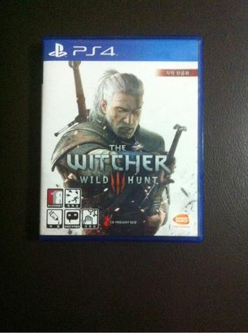 WTS BD PS4 The witcher 3