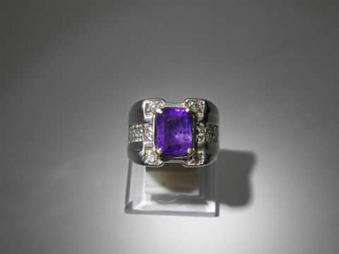 Natural Amethyst (Kecubung) From Brazil : Code P1