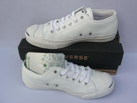 WTB Converse Jack Purcell size 42 ALL WHITE