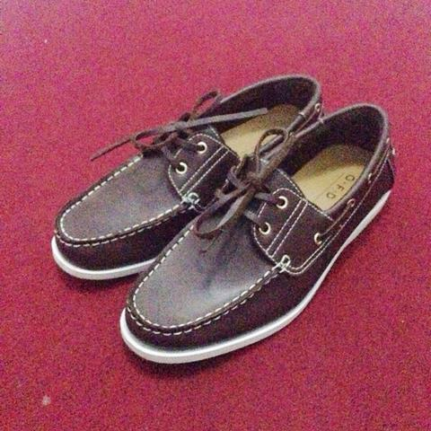Moccasin shoes murah sz 41 model sperry topsider