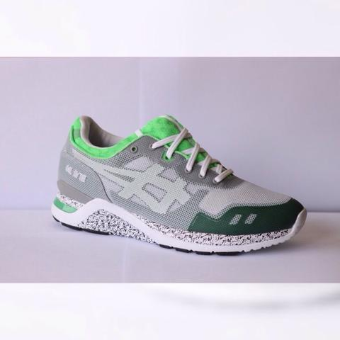 Asics Gel Lyte evo grey/green size 9/42,5 (Brand new replace box)