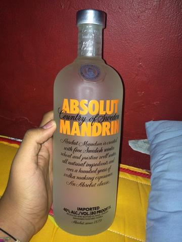 Absolute Vodka 1L Mandarin