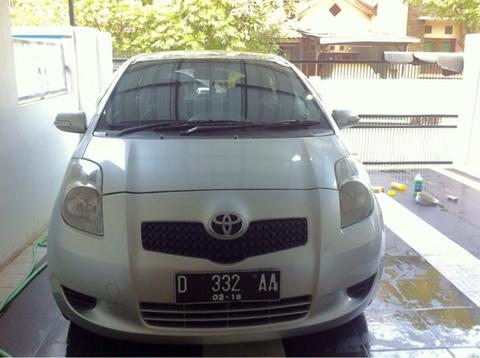 Toyota Yaris 2007 manual 1.5 Type E warna silver