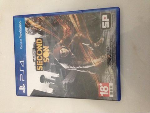 game ps4, ps 4 ,playstation 4 infamous second son second