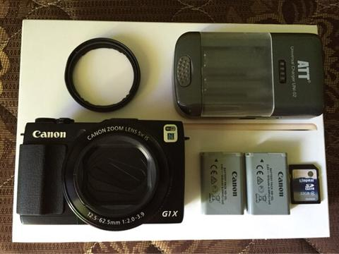 Canon PowerShot G1 X Mark II ( Canon G1X Mark 2 ) Murmer