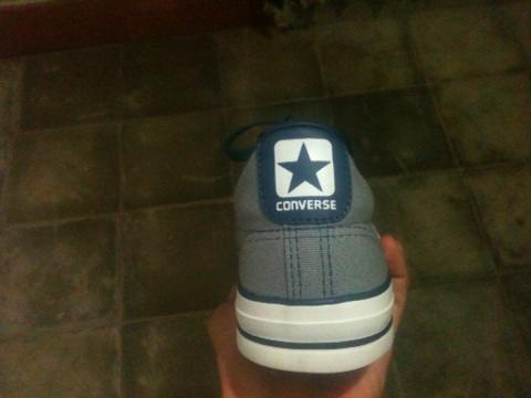 WTS Sepatu Converse Star Player CT OX Grey/Navy