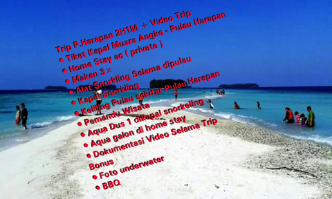 || Trip Pulau Harapan 2H1M || Donkingkong Tour And Travel || Private Trip ||