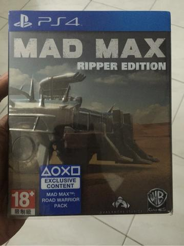 BD PS4 Mad Max Steel Case Edition