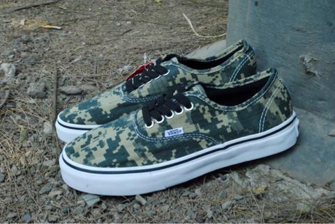 Vans Authentic Digital Cammo For Man