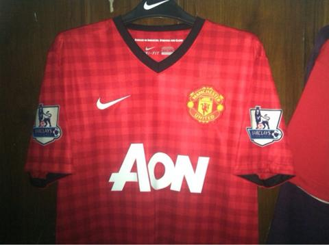 Jersey Manchester United 12-13 Original