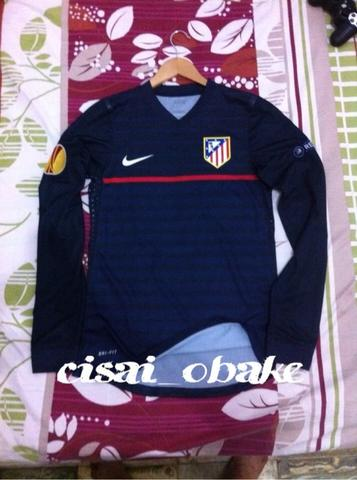 WTS Jersey Original Atletico Madrid Away LS player issue