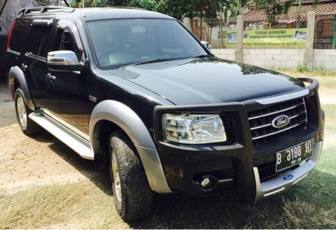 ford everest XLT matic hitam 2008 baguss