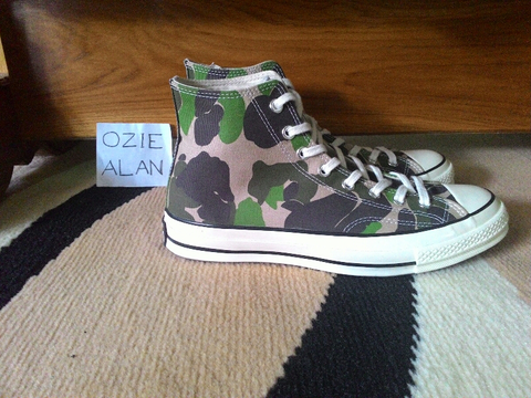 Converse 70s Camo Candied Ging (Size 43)