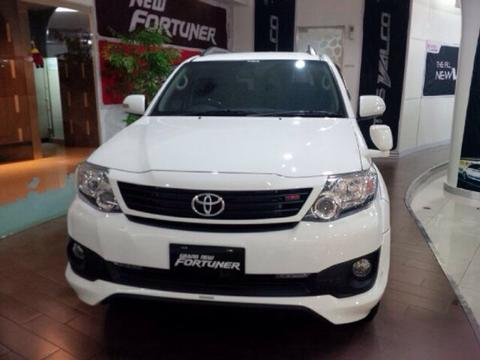 FORTUNER G AUTOMATIC BENSIN TRD VINCODE 2014 nego sampai deal