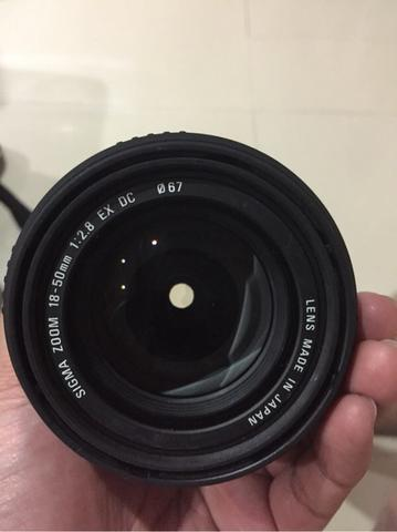 Sigma 18-50mm F/2.8 for canon seken jepang
