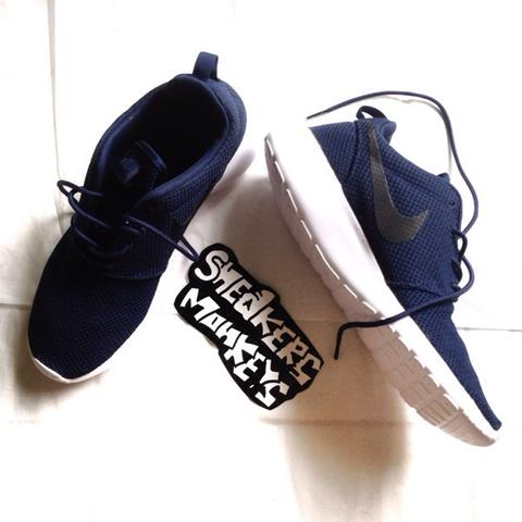NIKE ROSHE RUN ORIGINAL MIDNIGHT NAVY