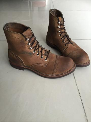 wts : Redwing Heritage Iron Ranger 8113 // size 41 original // mint cond.