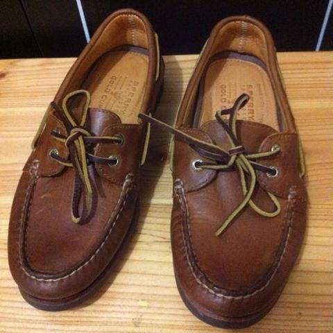Sperry Top sider Gold Cup authentic New