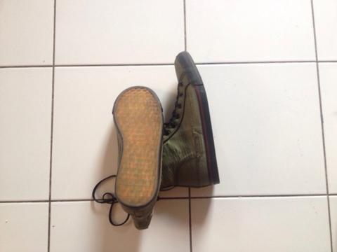 WTS Macbeth Shoes mike dirnt studio project Green 42 (97%)