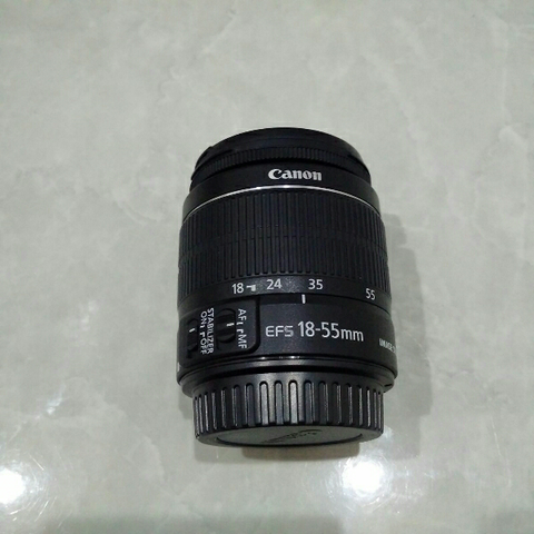 [CAKIM] WTS lensa Canon EF-S 18-55mm IS II like new