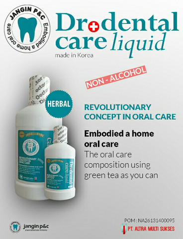 Terjual Dr dental care liquid  6d6e4b09a3