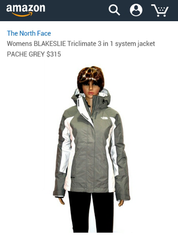 The North Face Blakeslie Womens Original