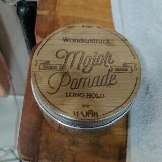 Major Pomade | Pomade | Waterbased Pomade | Wooden Major | @qualimade