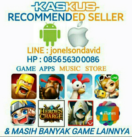 [RECOMMENDED STORE] Jual Gem Gems Clash Royale | COC Clash of Clans