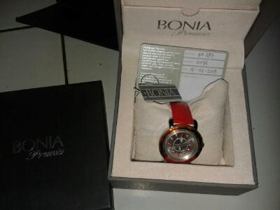 Dijual Jam Tangan Asli Merek Bonia Premio
