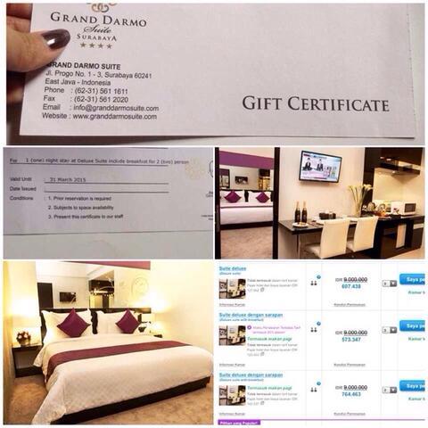 JUAL CEPAT! voucher hotel bintang Surabaya