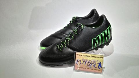 Terjual Sepatu Futsal Nike Bomba Pro II Black Electric Green 100 ... 64d348168a