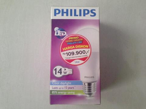 Lampu LED PHILIPS 7 watt, 9 watt dan 14 watt - ORI - Borongan