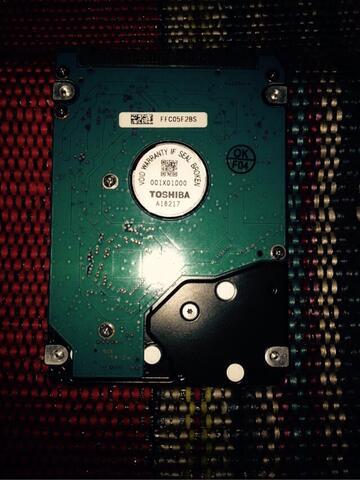 Harddisk laptop rusak 320GB