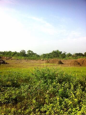 tanah luas 10 hektar cibarusah