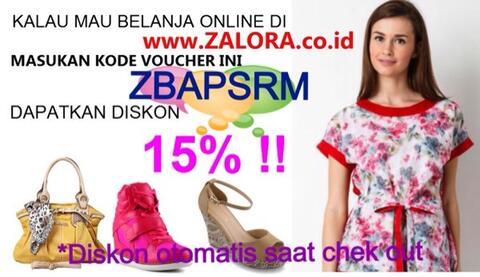voucher diskon 15% zalora indonesia tanpa minimum pembelian